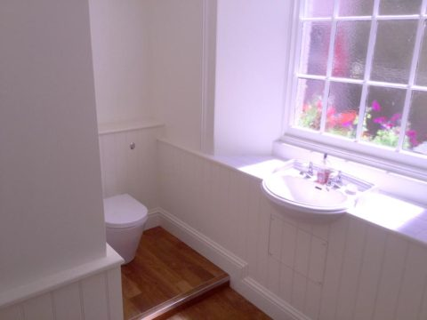 Plymouth bathroom matchboard panelling