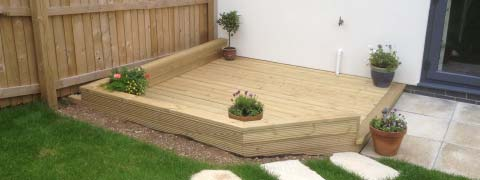 wooding decking plymouth