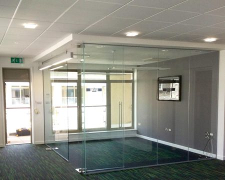 glass frame office